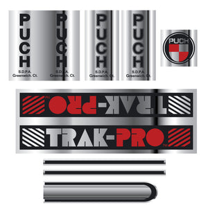 Puch TRAK-PRO decal set - custom