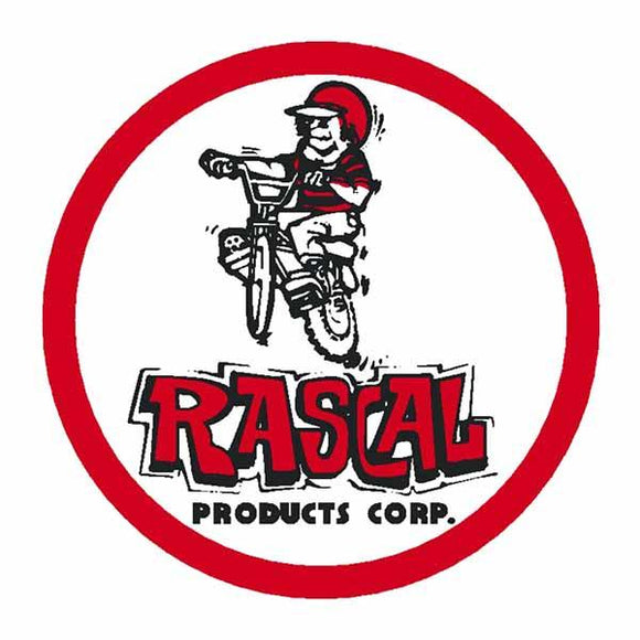 Aaa Rascal Round Decal - Old School Bmx