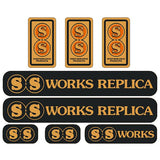 S&s - Works Replica Bmx Decal Set Old School Bmx Decal-Set