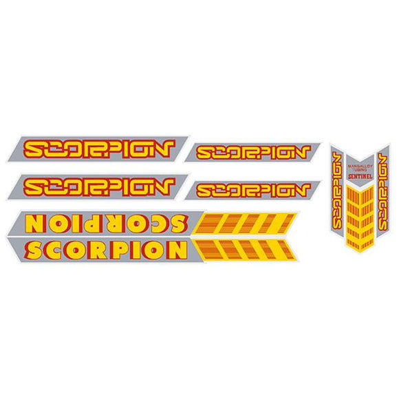Scorpion BMX - Sentinel decal set