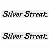 Diamond Back Ii - Silver Streak Snake Db Decal Set Old School Bmx Decal-Set