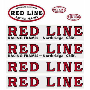 "Redline ""Northridge Squareback"" decal set"