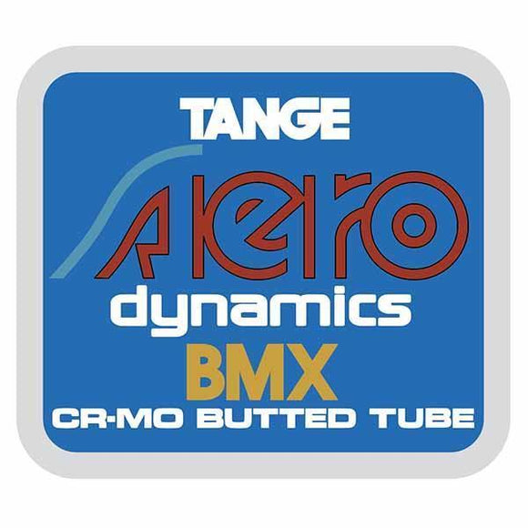 Tange - Aero Seat Tube Decal Old School Bmx