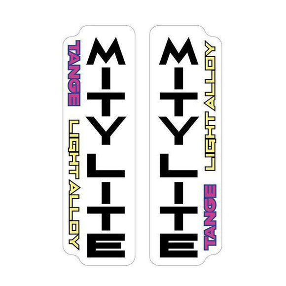 Tange Mitylite Fork Decal Set - Old School Bmx