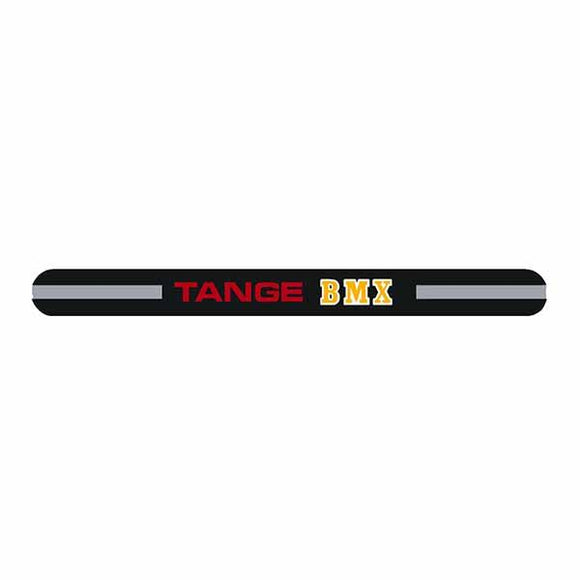 Tange - Bmx Black Seat Clamp Decal Old School Bmx
