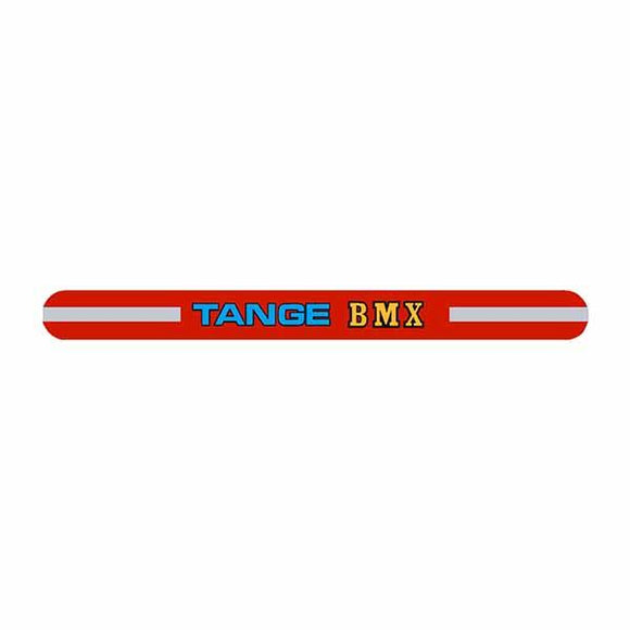 Tange - Bmx Red Seat Clamp Decal Old School Bmx