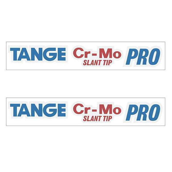 Tange Slant Tip Pro Fork Decal Set - Old School Bmx