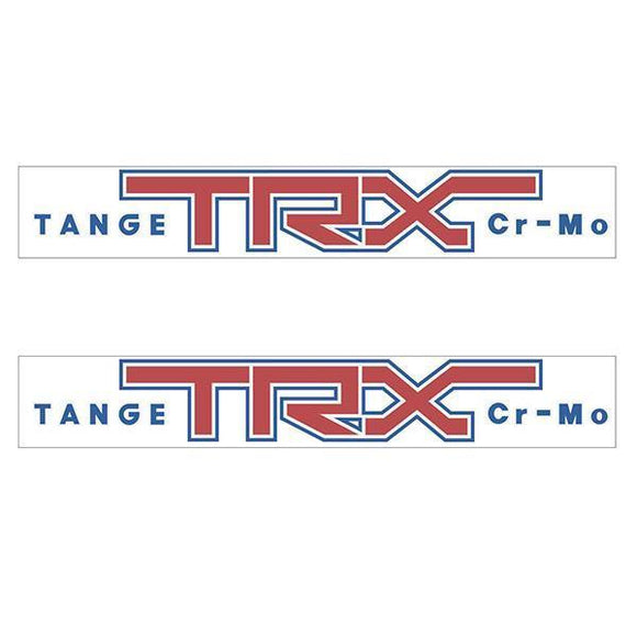 Tange Trx Fork Decal Set - Old School Bmx