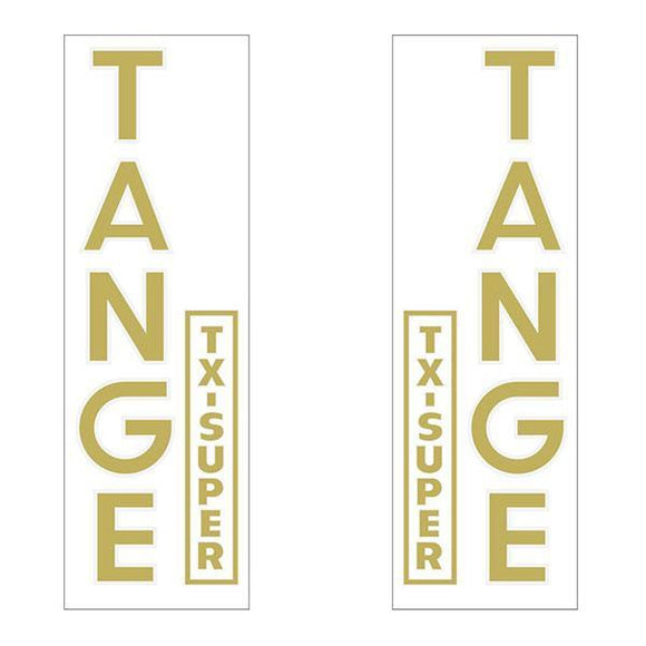 Tange Txsuper Fork Decal Set - Old School Bmx