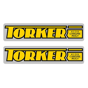 Torker - 4130 yellow - fork decals