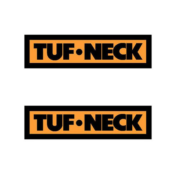 Tuf-Neck - Small Bar Or Seat Pole Decals Old School Bmx Decal