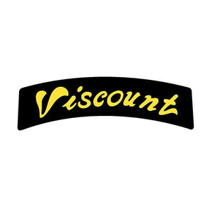 Viscount - Aero Back Of Seat Decal Old School Bmx