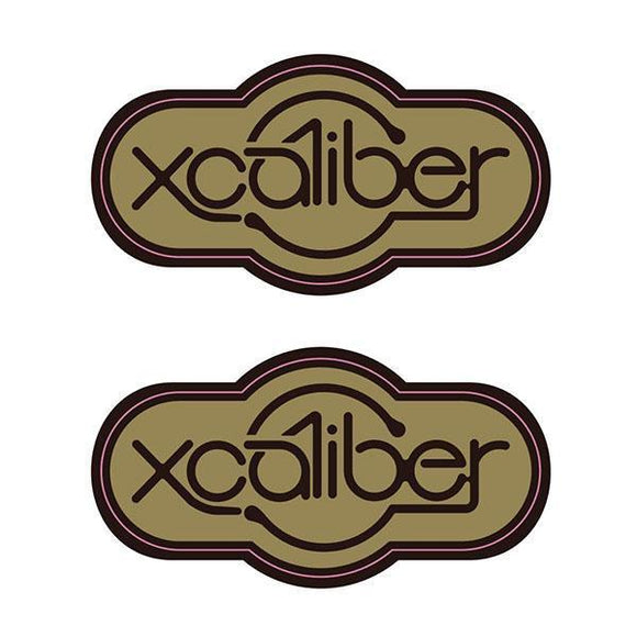 Xcaliber - Sealed Bearing Hubs And Pedals (Pair) Decals Old School Bmx Decal