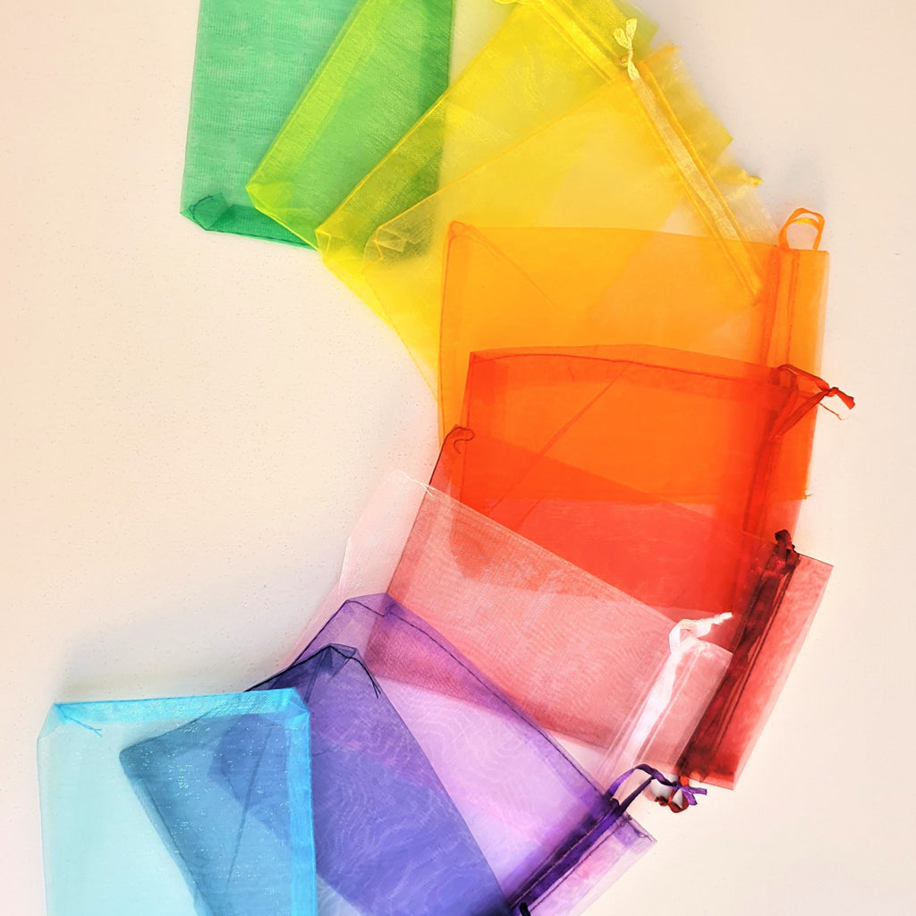 Organza Gift Bag | Multiple Colors available | Size Small