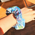 Scrunchies | Haargummi | Lacy Hair Accessory | Watercolor | Colorful