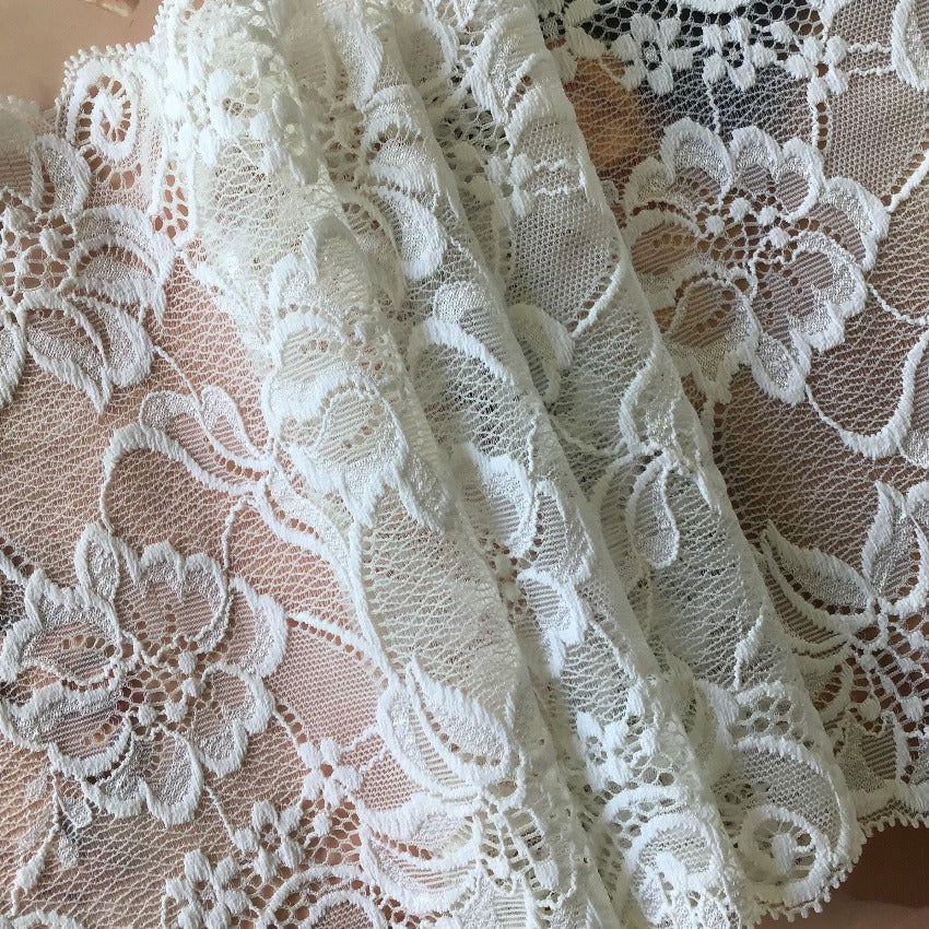 Galloon Lace Elastic - Width 17 cm | 61552