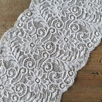 Recycled | Galloon Lace Elastic - Width 16 cm | 60591