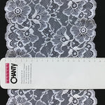 Galloon Lace Elastic - width 18 cm | 60602