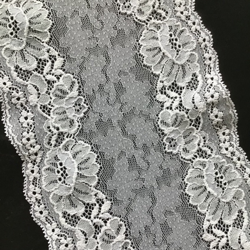 Galloon Lace Elastic - width 16 cm | 60647