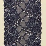 Galloon Lace Elastic - width 17 cm | 60663