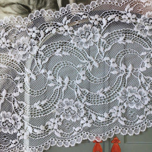 Galloon Lace Elastic - width 16 cm | 61376