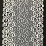 Galloon Lace Elastic - Width 17 cm | 61711
