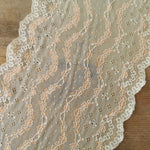 Galloon Lace Elastic - width 22 cm | 65216