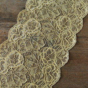 Galloon Lace Elastic - width 16 cm | 65318