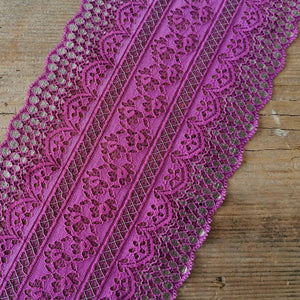 Galloon Lace Elastic - width 16 cm | 65659