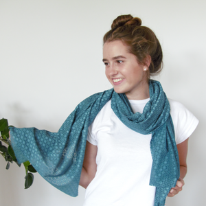 Chanty Lace Scarf | Spotty Grid | Tapestry | One Size
