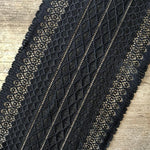 Galloon Lace Elastic - width 16 cm | 65751