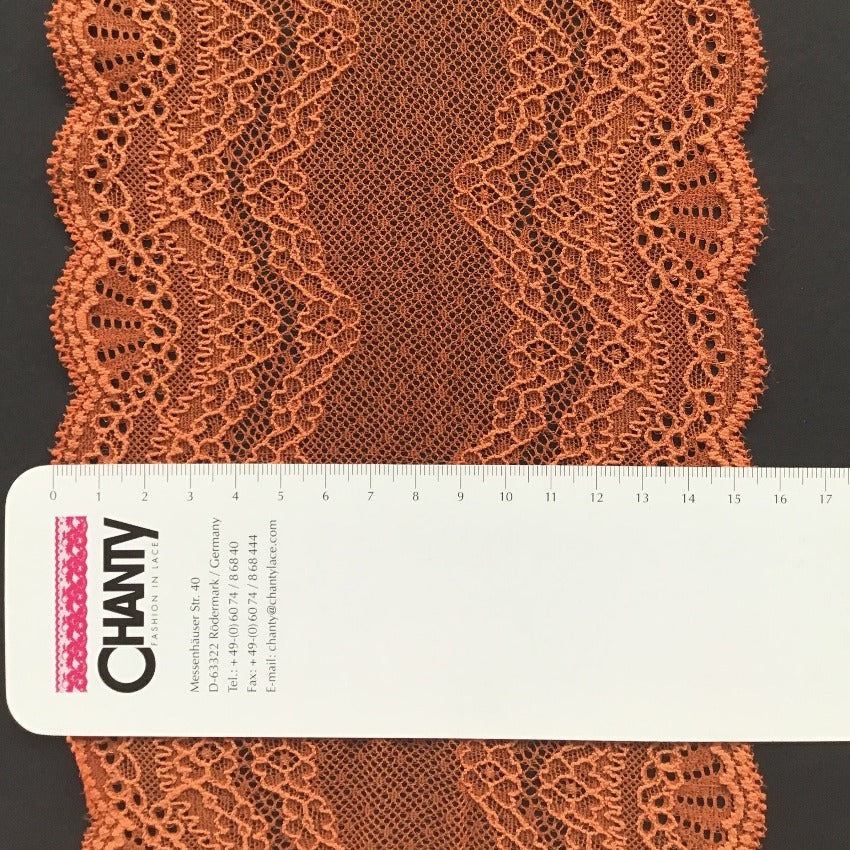 Galloon Lace Elastic - width 16 cm | 66403