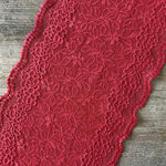 Galloon Lace Elastic - Width 17 cm | 66439