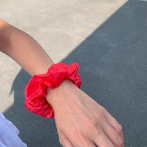 Scrunchie | Summer Kiss | Cherry Red