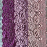 Galloon Lace Elastic - Width 16 cm | S7007