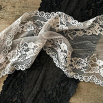 Galloon Lace elastic - width 17 cm | S7018