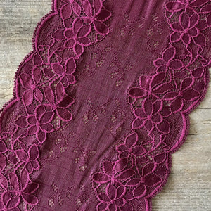 Galloon Lace Elastic - width 16 cm | S8524