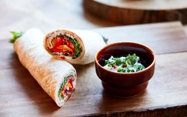 Wrap med avocado - Vegetar