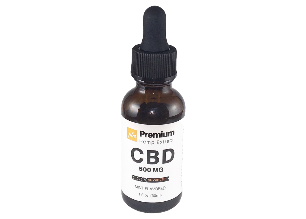 500 MG Hemp Extract CBD - Advanced