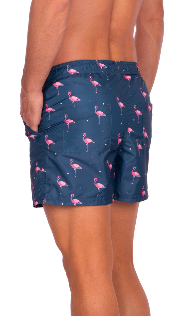 Flamingo Party Trunks