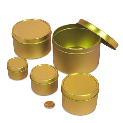 6 oz Gold Deep Tin
