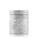 Marigny Jar with Matching Glass Lid - Silver Plated