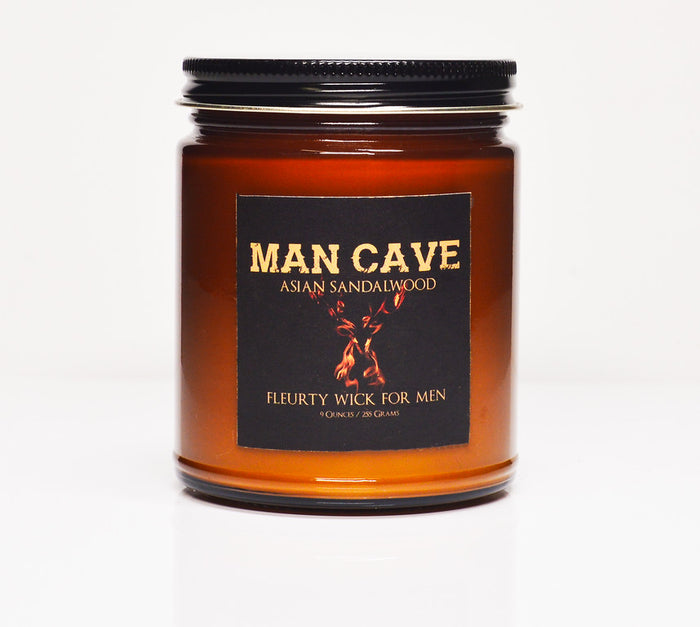 Man Cave by Fleurty Wick