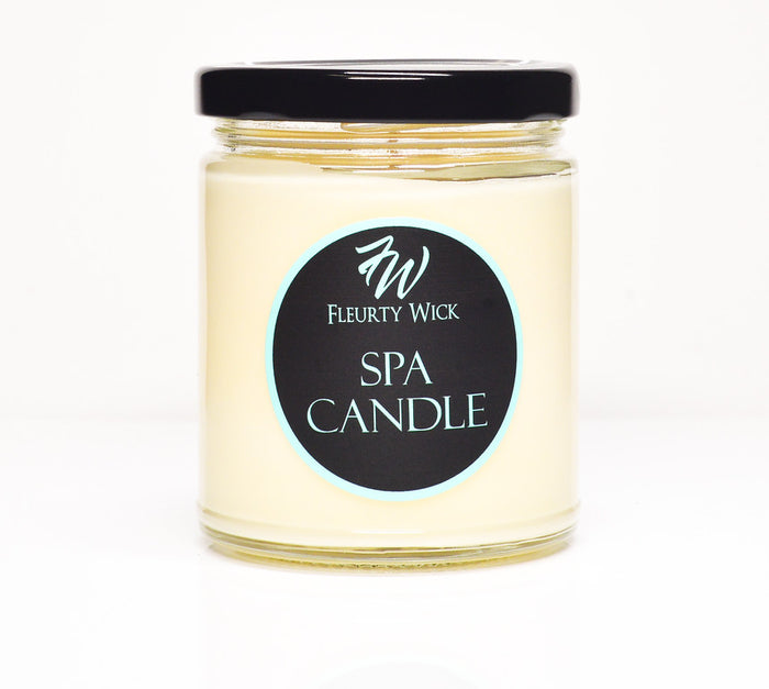 Essential Oil Aromatherapy Spa Candle
