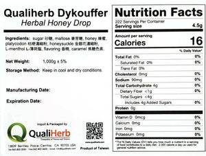 Dykouffer Herbal Honey Drop