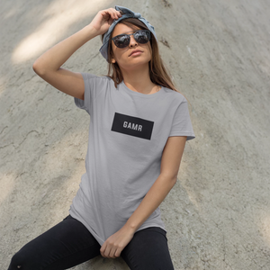 GAMR Women's Brand T-Shirt (Grey)