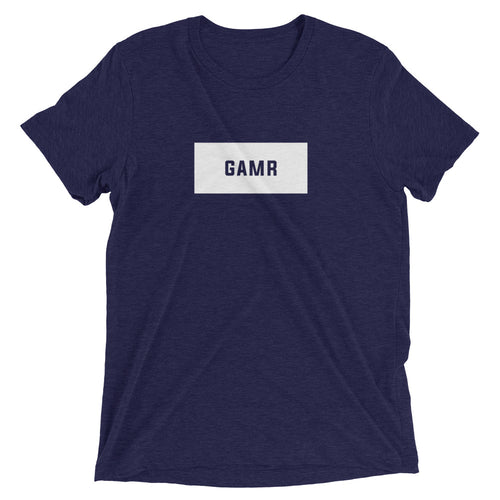 GAMR Men's Brand T-Shirt (Navy)