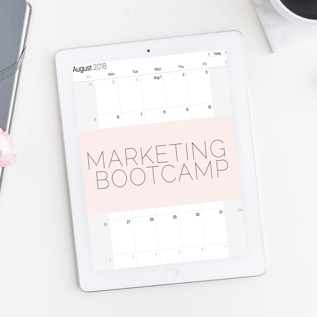 30 Day Marketing Bootcamp | for Beauty Experts, Energy Workers and all Service Based Businesses
