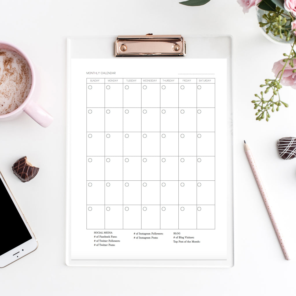 Digital | Printable Photography Planner