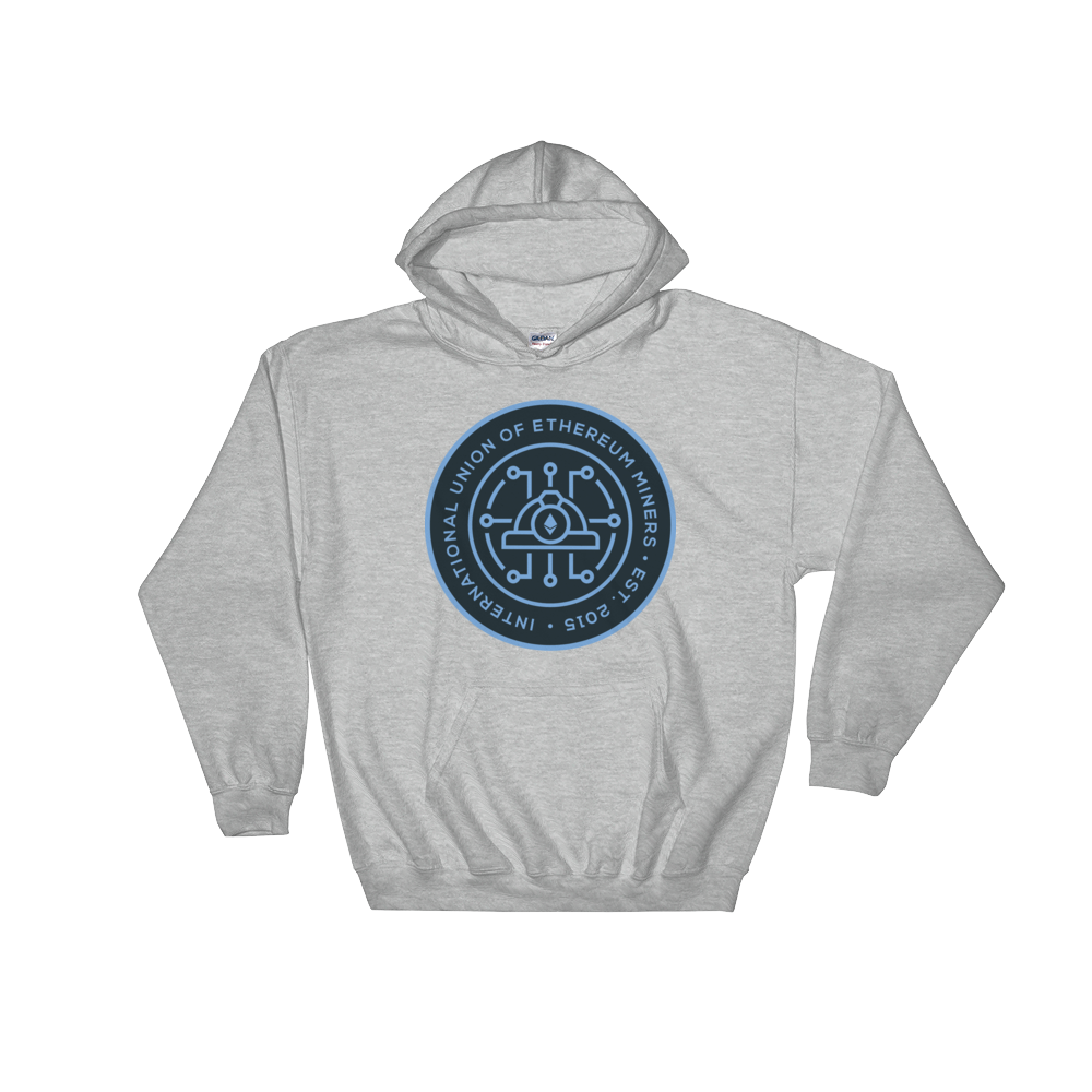 Ethereum Miners Union Hooded Sweatshirt